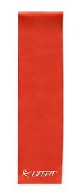 Mankštos juosta lifefit 0.65 mm, raudona