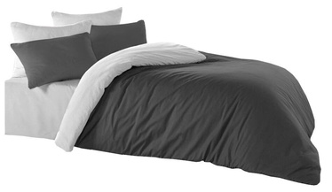 Bradley Duvet Cover Anthracite/Grey 150x210cm