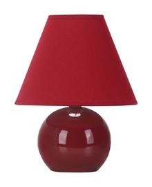 Galda lampa D1292 40W E14, bordo