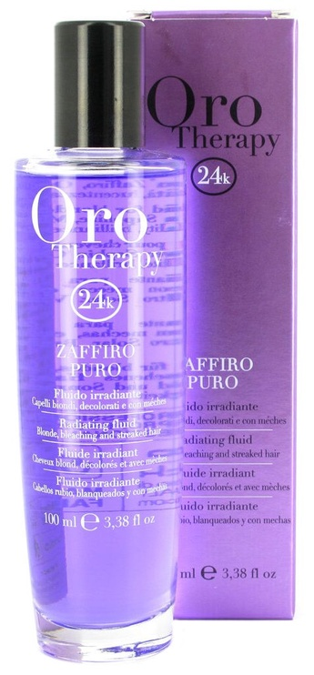 Fanola Oro Therapy Argan Oil For Blonde Hair 100ml