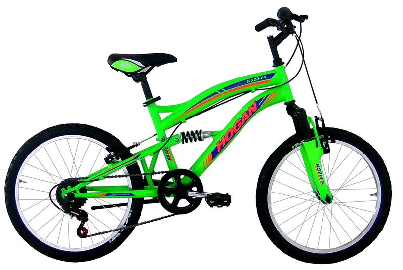 Детский велосипед Henry Hogan MTB Full Susp 20'' Green