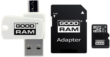Mälukaart GoodRam M1A4 All-in-One 64GB MicroSDXC UHS-I Class 10 + Adapters