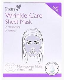 Pretty Wrinkle Care Sheet Face Mask 2pcs