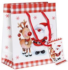 Verners Gift Bag Santa & Reindeer 389260