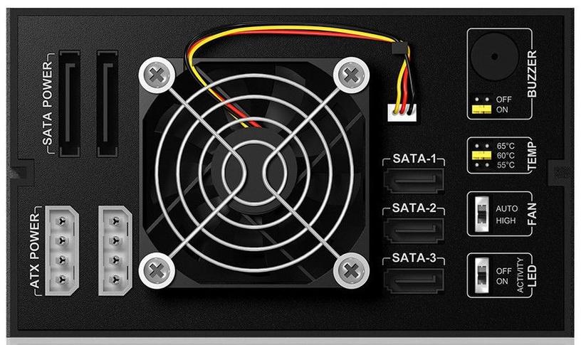 """ICY BOX IB-563SSK 3x3.5"""" SATA/SAS Backplane"""