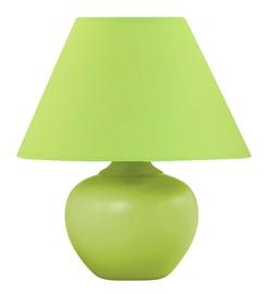 Galda lampa D3265S 40W E14, zaļa