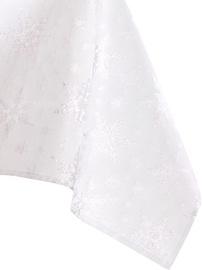 Скатерть AmeliaHome White Christmas, серебристый, 2200 мм x 1400 мм