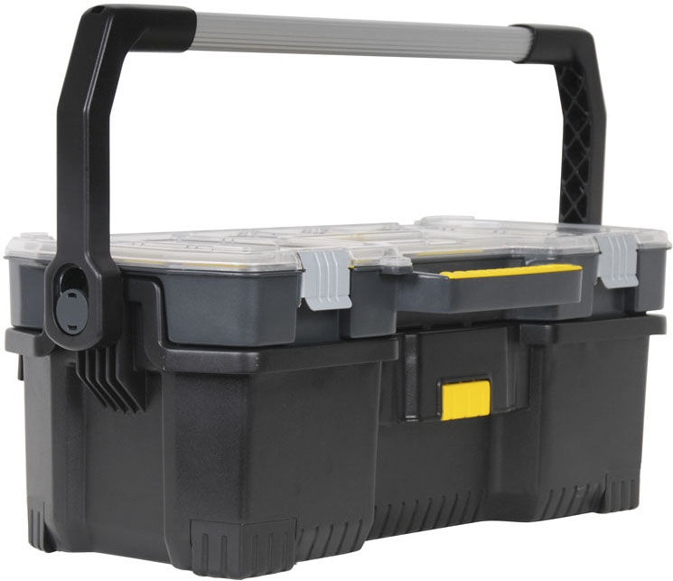 Stanley 1-97-514 Tool Box with Tote Tray Organizer 24''