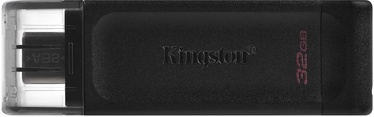 USB atmintinė Kingston DataTraveler 70, USB 3.2, 128 GB