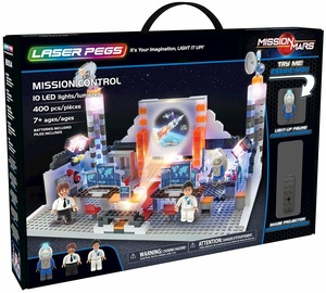 Laser Pegs Mission Control 18004