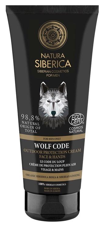 Näokreem Natura Siberica Men Wolf Code Outdoor Protection Cream For Face & Hands, 80 ml