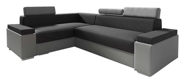 Idzczak Meble Chester Mini Corner Sofa Left Dark Grey/Grey