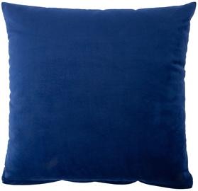 Декоративная подушка Home4you Holly, синий, 450x450 мм