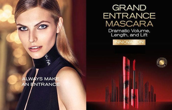 Skropstu tuša Elizabeth Arden Grand Entrance Stunning Black, 8.5 ml
