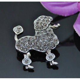 Vincento Brooch With Zirconium Crystal LD-1269