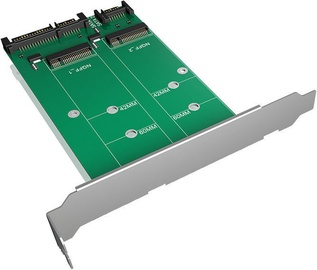 ICY BOX 2 x SATA to 2 x M.2 IB-CVB512-S