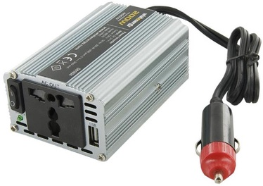 Whitenergy Power Inverter 24V DC To 230V AC USB 200W