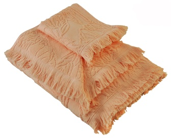 Ardenza Blossom Terry Towels Set 3pcs Peach