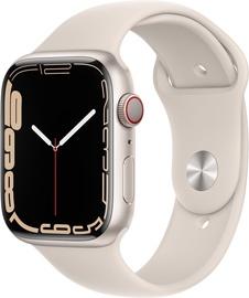 Nutikell Apple Watch Series 7 GPS + LTE 45mm Aluminum, beež