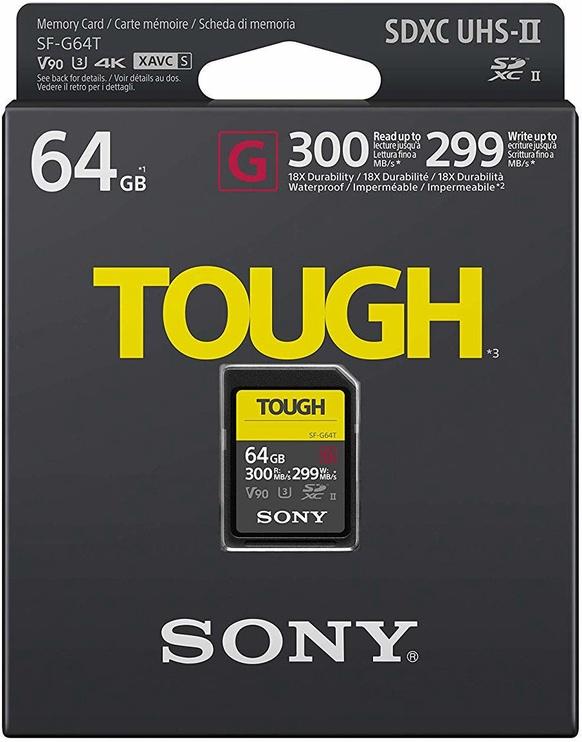 Sony SF-G TOUGH 64GB SDXC UHS-II Class 10
