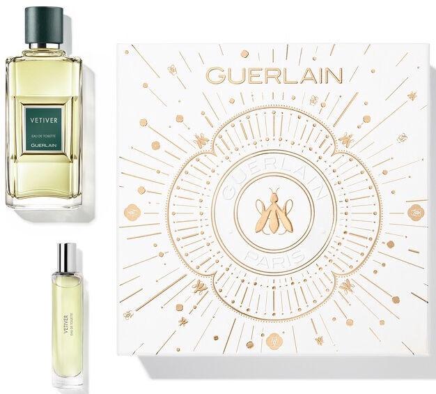 Набор для мужчин Guerlain Vetiver 2pcs Set 110 ml EDT