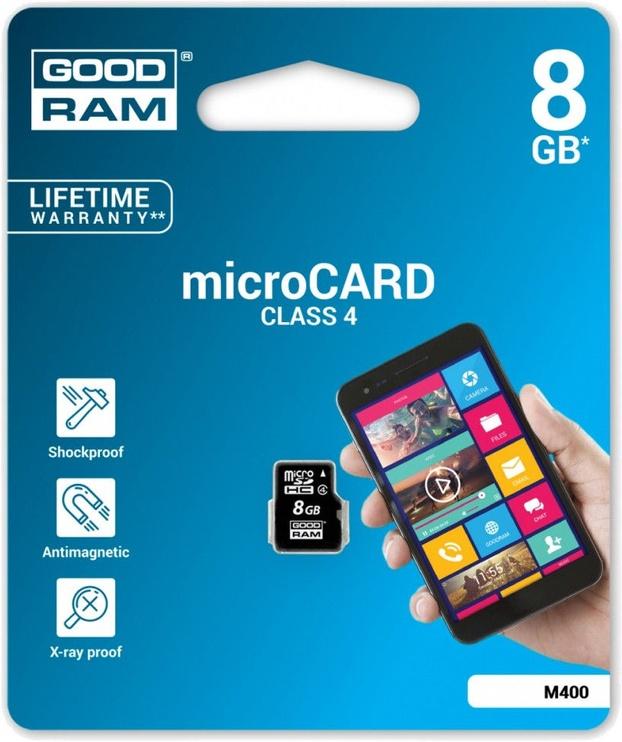 GoodRam M400 8GB microSDHC Class 4