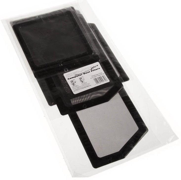 DEMCiflex Dust Filter Black DF0195 Set For NZXT Phantom 410