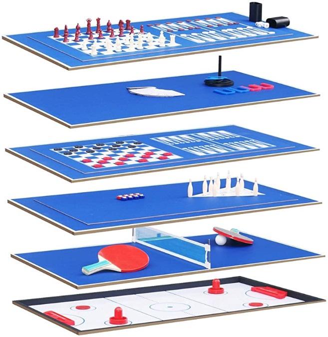 Daugiafunkcis žaidimų stalas Solex Sports 91412AD