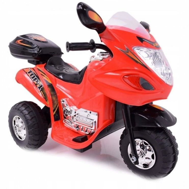 Strong 2 Motorcycle With Storage Box HL-238 Red