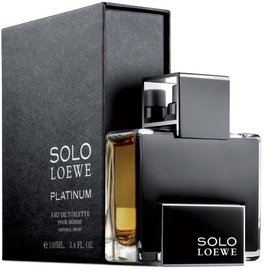 Tualetes ūdens Loewe Solo Platinum 100ml EDT
