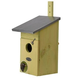 NKS Birdhouse For Crows 22x22x39cm Green
