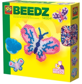 Mozaika SES Creative Beedz Iron On Beads Butterfly 06107