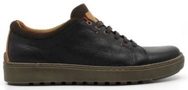 Wrangler Historic Derby Casual Leather Shoes Black 42