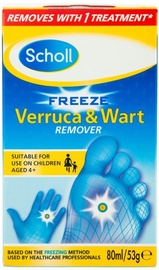 Scholl Verruca And Warts Remover 80ml