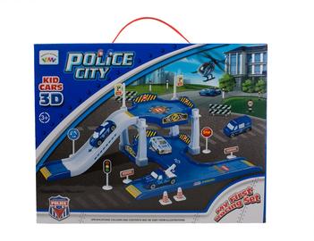 Mänguauto komplekt politsei