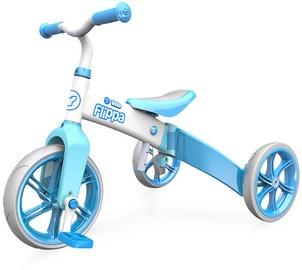 Yvolution Balance Bike YVelo Flippa Light Blue 100612