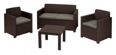 Комплект уличной мебели Keter Alabama Brown