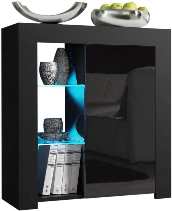 Pro Meble Milano PKC 1D With Light Black
