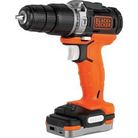 Black & Decker BDCHD12S1 Hammer Drill 12V 1.5Ah