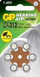 ELEMENTI GP ZA312F-D6 1,45V 6 GAB.