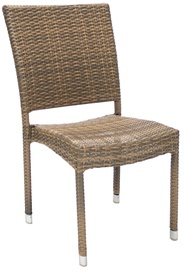 Home4You Chair Wicker 3 Cappuccino