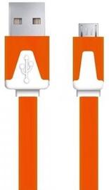 Esperanza Cable USB / USB-micro Orange 1m