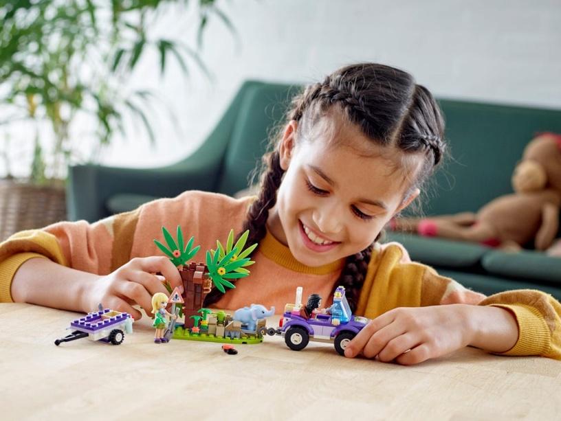 Конструктор LEGO® Friends 41421 Джунгли: спасение слонёнка