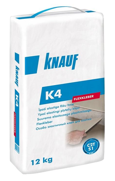 Līme flīžu Knauf K4, 12 kg