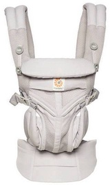 ErgoBaby Omni 360 Baby Carrier All-In-One Cool Air Mesh Pearl Grey