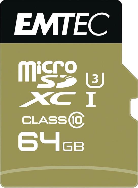 Emtec 64GB Speedin Micro SDHC UHS-I Class10