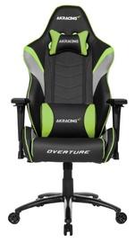 Žaidimų kėdė AKRacing Overture Gaming Chair Green