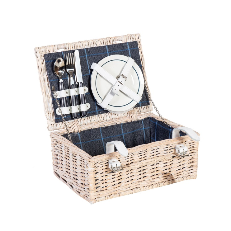 Home4you Picnic Set Apollo 36x26xH15cm White