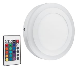 Plafoninis šviestuvas Osram Led Color+White RD200, 19W, LED, RGB, RC