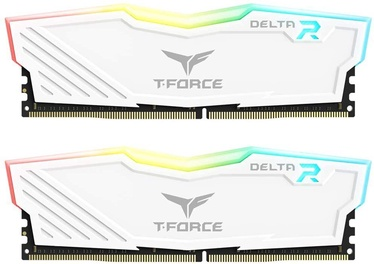 Operatīvā atmiņa (RAM) Team Group T-Force Delta RGB White TF4D416G2666HC16CDC01 DDR4 16 GB